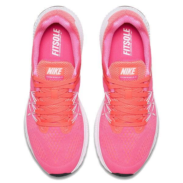 【EST S】Nike Zoom Winflo 3 831562-001 輕量 飛線 慢跑鞋 女鞋 粉 G1011 2
