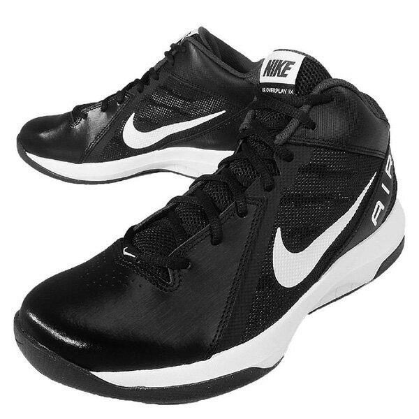 【EST S】Nike The Air Overplay Ix 831572-001 皮革 籃球鞋 男鞋 黑 G1011 2