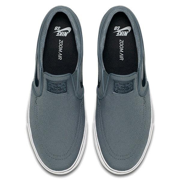 【EST S】Nike Zoom Stefan Janoski Slip Cnv 831749-001 休閒 滑板鞋 男鞋 灰 G1011 2