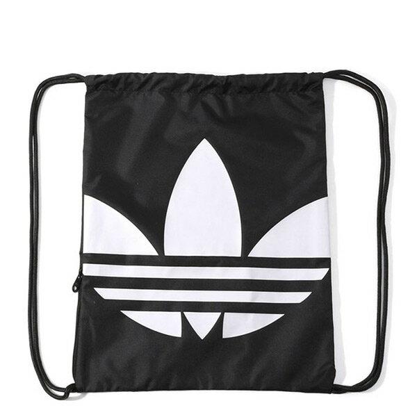 【EST S】Adidas Originals Gymsack Trefoil AJ8986 束口袋 黑白 G1205