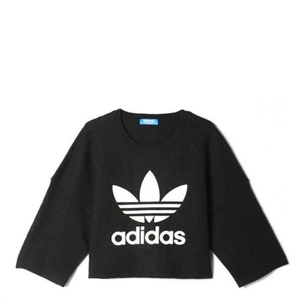 【EST S】Adidas Original Sweatshirt AY5249 毛衣 短版 羊毛 女款 G1223