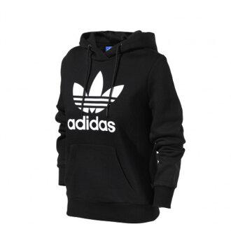 【EST S】Adidas Crew Hoodie AJ8407 連帽 帽Tee黑白 女款 H0118