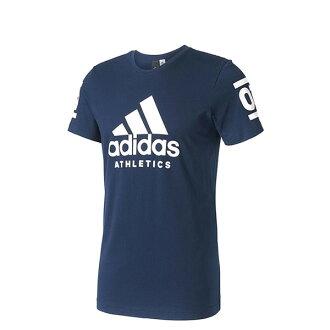 【EST S】Adidas Athletics 360 B45736 棉質 短Tee 深藍 H0412