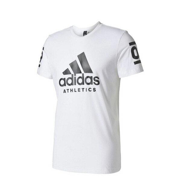 【EST S】Adidas Athletics 360 B45737 棉質 短Tee 白 H0412
