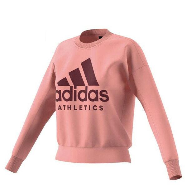 【EST S】Adidas Sport Id Sweatshirt B47325 棉質 大學Tee女款 H0112