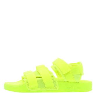 【EST S】Adidas Adliette Sandal BB5097 魔鬼氈 涼鞋 羅馬鞋 女鞋 螢光綠 H0609