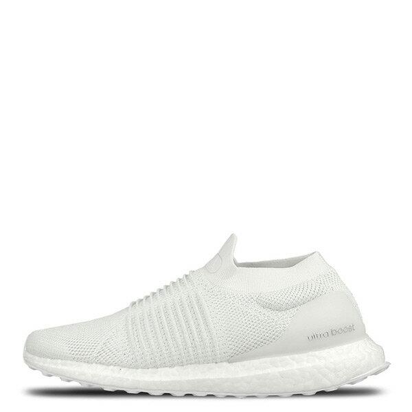 【ESTS】AdidasUltraBoostLacelessTripleWhiteBB6146雪花襪套男鞋白I0403