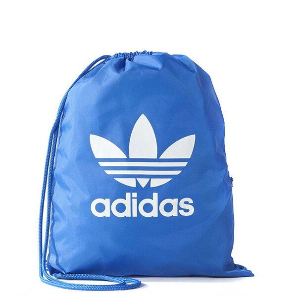 【EST S】Adidas Gymsack Tricot BJ8358 束口袋 後背包 藍 H0412