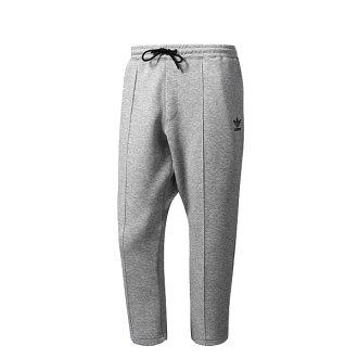 【EST S】Adidas Tubular Chicago Cropped BK0555 九分褲 男款 灰 H0921