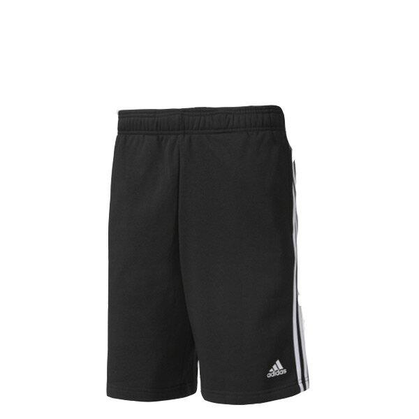 【ESTS】AdidasEssentials3-StripesShortsBK7468運動短褲男款黑I0820