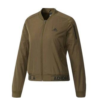 【EST S】Adidas Athletics MA-1 BP6958 飛行 棒球 外套 女款 軍綠 H1023