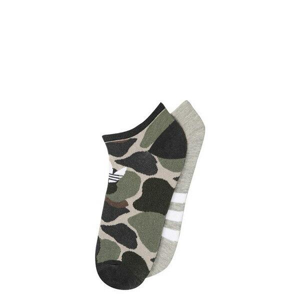 【EST S】Adidas Originals Socks BQ6002 兩件裝 迷彩 淺灰 短襪 H1023
