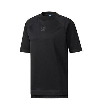 【EST S】Adidas Tubular Taped Nova Tee BS4495 短Tee 男款 全黑 H0921