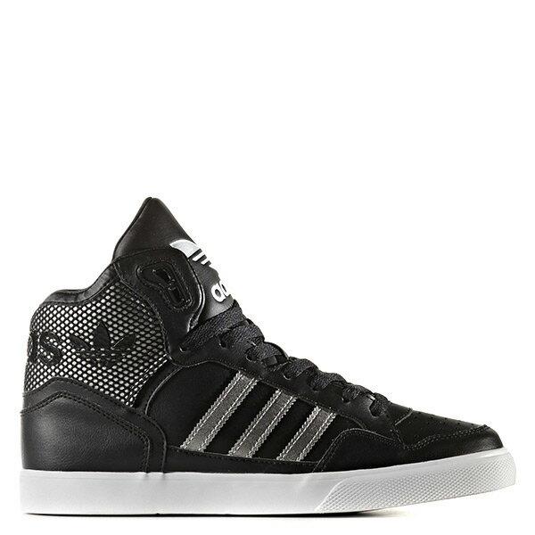 【EST S】Adidas Extaball W BY2336 內增高 高筒 女鞋 黑銀 H0412