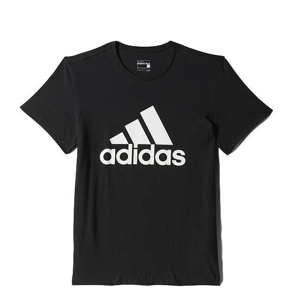 【EST S】Adidas Essentials Box Logo CD4864 余文樂 運動 短Tee 黑 H0717