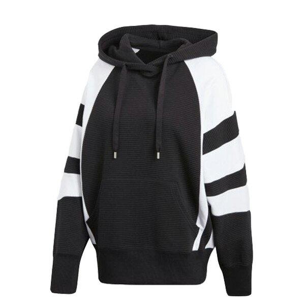 【ESTS】AdidasOriginalsEQTHoodieCD6880連帽外套女款黑白I0205