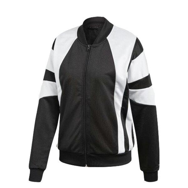 【ESTS】AdidasEQTTrackJacketCD6888立領外套女款黑白拼接I0205