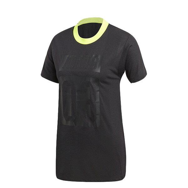 【ESTS】AdidasAA-42TeeCE0976短袖上衣女款黑I0516