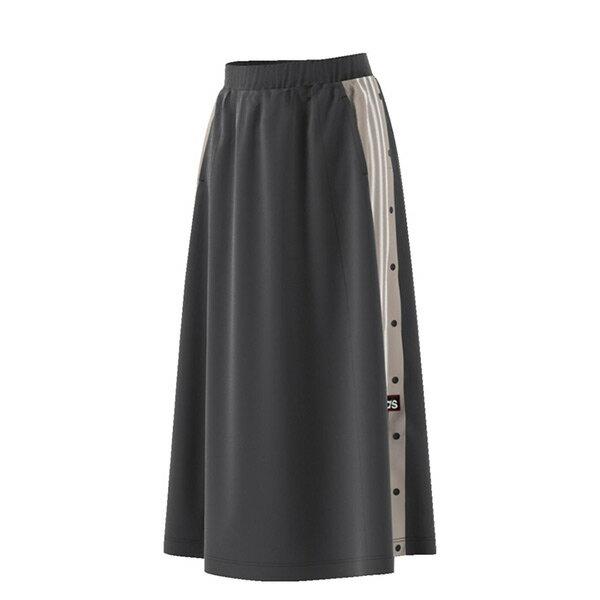【ESTS】AdidasAdibreakLongSkirtCE0993側邊排扣長裙女款黑I0118