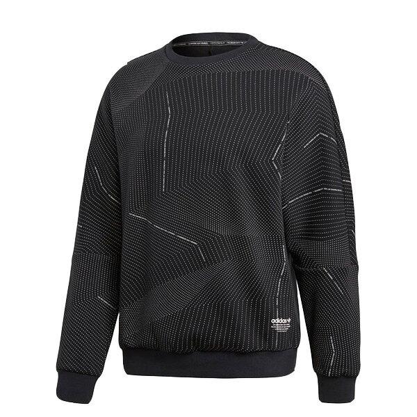 【ESTS】AdidasNMDAlloverSweatshirtCE1605條紋大學Tee黑白I0118