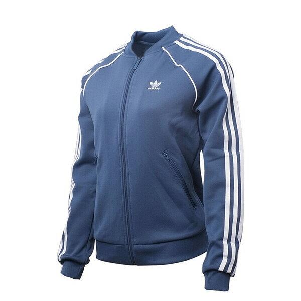 【ESTS】AdidasTrackJacketCE2394立領運動外套女款土耳其藍I0605