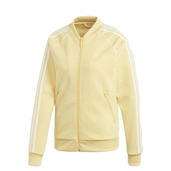 【ESTS】AdidasTrackJacketCE2397立領運動外套女款鵝黃I0605