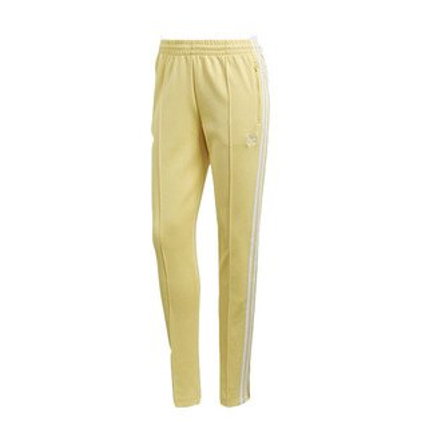 【ESTS】AdidasOriginalsPantCE2405三條線運動長褲女款鵝黃I0605