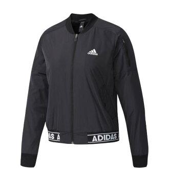 【EST S】Adidas Athletics MA-1 CE2535 飛行 棒球 外套 女款 黑白 H1023