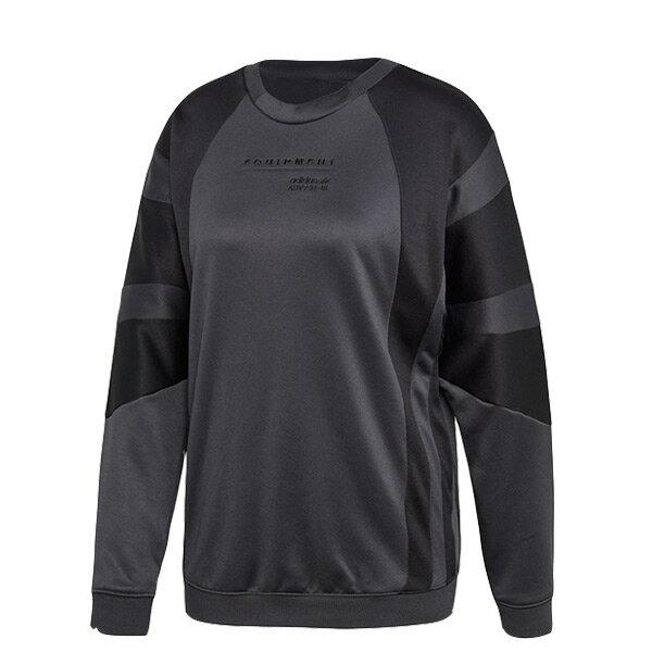 【ESTS】AdidasOriginalsEQTSweatshirtCE3792長袖上衣女款黑灰I0205