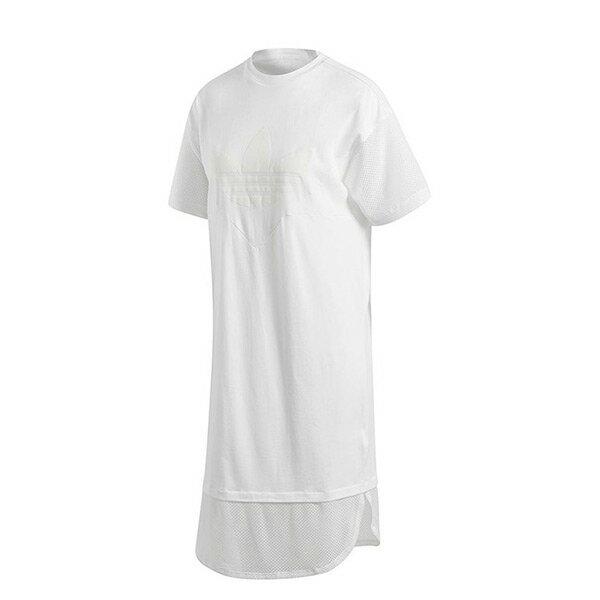 【ESTS】AdidasOriginalsClrdoTeeDressCE4133長版短Tee洋裝女款白I0313