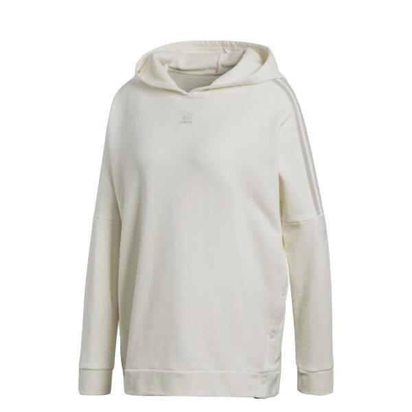 【ESTS】AdidasAdibreakHoodieCE4168連帽長Tee女款米白I0118