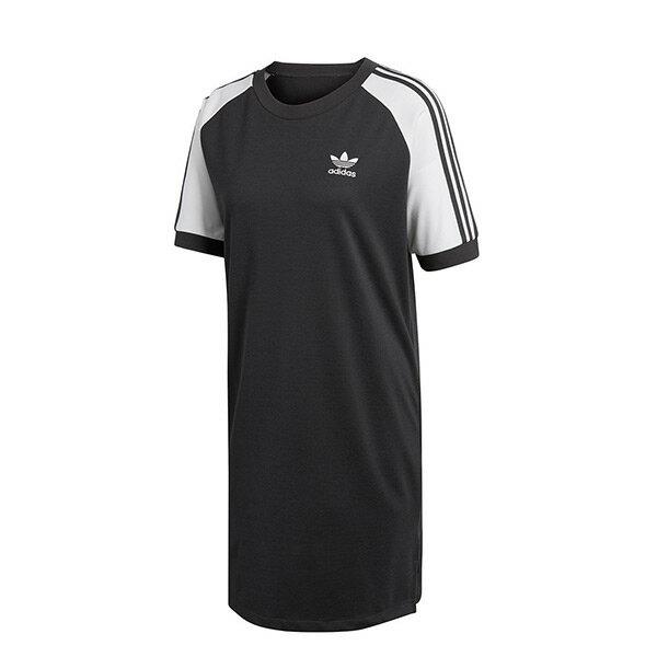 【ESTS】AdidasRaglanTeeDressCY4961長版短袖上衣連身裙女款黑I0313