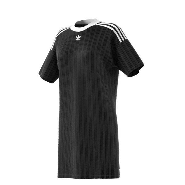 【ESTS】AdidasTrefoilDressCE5585長版洋裝連身裙范冰冰女款黑I0605