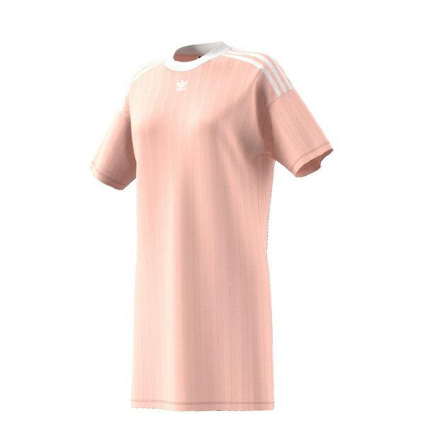 【ESTS】AdidasTrefoilDressCE5589長版洋裝連身裙范冰冰女款粉I0605
