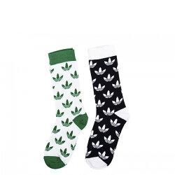 【EST S】Adidas Originals Crew Trefoil Socks CE5709 長襪 兩雙一組  I0516