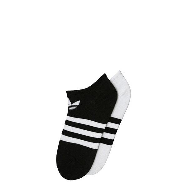 【ESTS】AdidasTrefoilLinerSocksCE5730黑白三葉草踝襪兩雙一組I0516