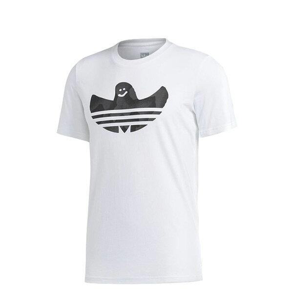 【ESTS】AdidasShmooTeeLogoCF3110小精靈短袖短Tee白I0516