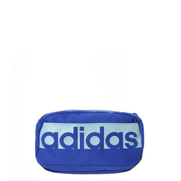 【ESTS】AdidasWaistBackBagCF5012腰包側背運動小包藍I0403