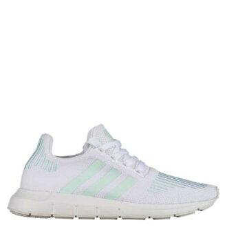 【EST S】Adidas Originals Swift Run CG4138 條紋 襪套 慢跑鞋 白綠 女鞋 H0802