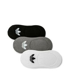 【EST S】Adidas Originals Low Cut 3-PPK socks CV5942 帆船襪 裸襪 黑白灰 I0822