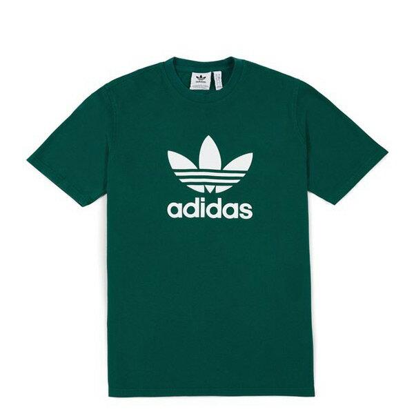 【ESTS】AdidasTrefoilTeeCW0705三葉草短Tee綠I0612