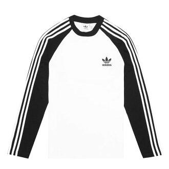 【EST S】Adidas Originals adicolor Longsleeve CW1228 長袖 棒球T 黑白 I0205