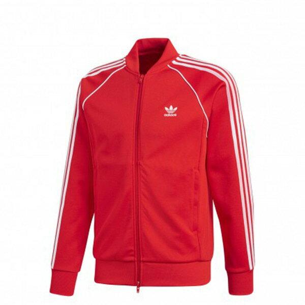 【ESTS】AdidasOriginalsJacketCW1257復古立領運動外套男款紅I0605