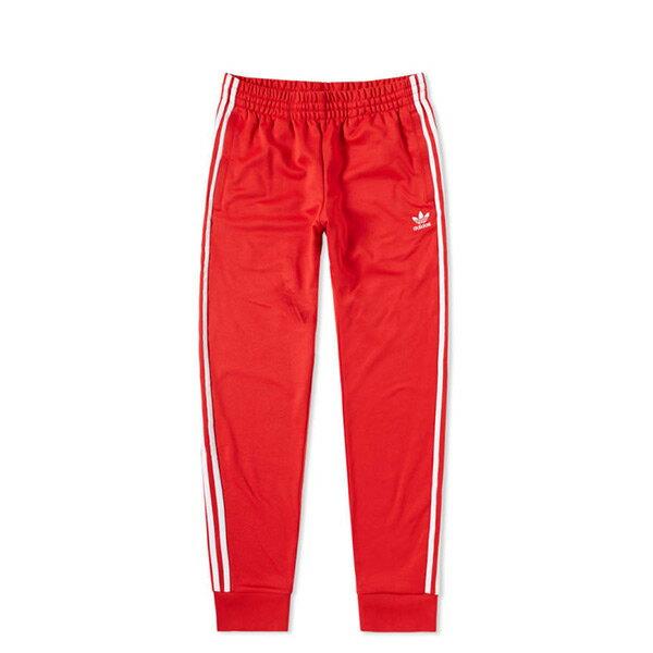 【ESTS】AdidasOriginalsCW1276復古休閒運動長褲男款紅I0605