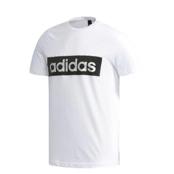 【ESTS】AdidasAthleticsBoxLogoTeeCX4986運動短袖短Tee白I0516