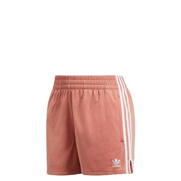 【EST S】Adidas 3-Stripes Shorts CY4765 休閒 運動 短褲 女款 粉紅 白邊 I0516