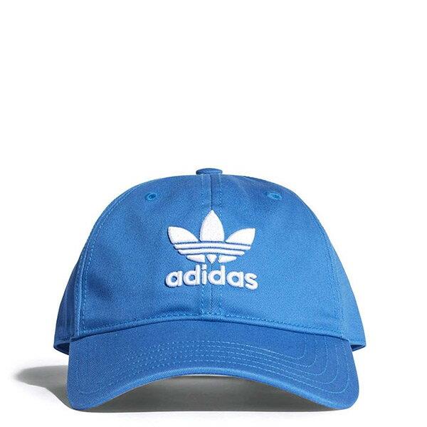 【ESTS】AdidasTrefoilClassicCapDJ0885棒球帽老帽藍色I0822