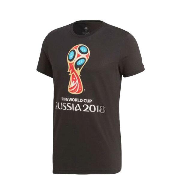 【ESTS】AdidasFIFAWorldCupEmblemTeeDM1300世界盃短Tee黑I0621