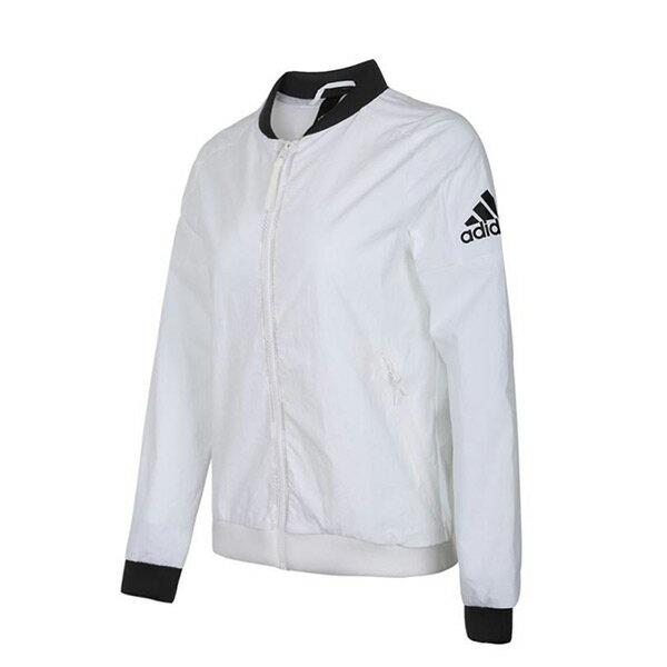 【ESTS】AdidasIDWovenJacketDM5258立領棒球外套女款白I0828