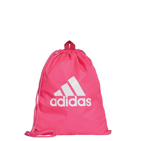 【EST S】Adidas Logo Gym Bag Pink DM7665 束口袋 後背包 桃紅 I0820